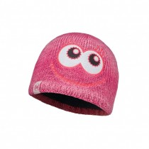 BUFF - CHILD KNITTED & POLAR HAT BUFF® MONSTER MERRY PINK - BOYS