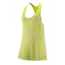 SALOMON - ELEVATE TANK:TUNIC W YUZU - WOMEN
