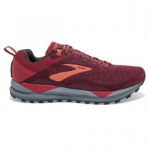 BROOKS - CASCADIA 14 RUMBA RED - WOMEN