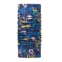 BUFF - JUNIOR HIGH UV BUFF® FUNNY SKULLS DARK NAVY - BOYS
