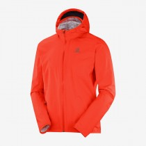 SALOMON - BONATTI WP JKT M CHERRY TOMATO - MEN