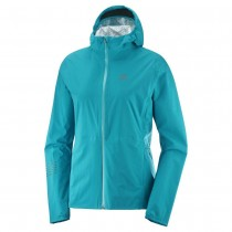 SALOMON - LIGHTNING WP JKT W-TILE BLUE - WOMEN