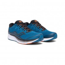 SAUCONY - RIDE ISO 2 BLK/BLU - MEN